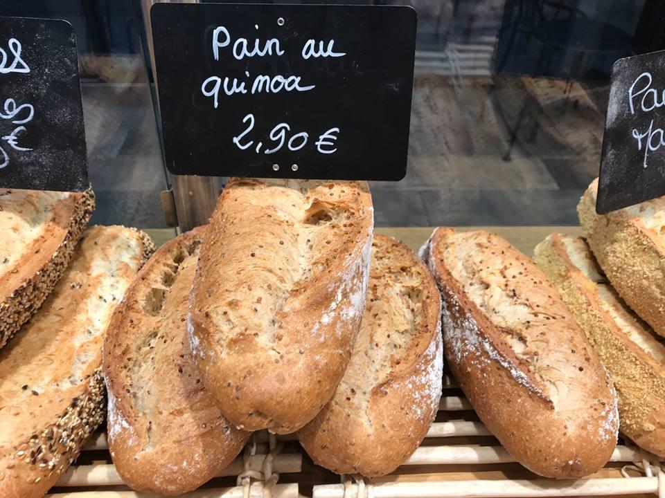 Pain au Quinoa